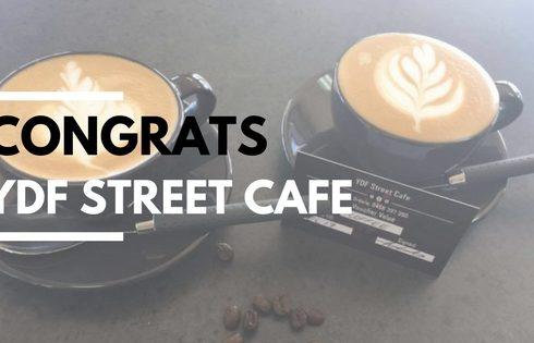 Congrats YDF Street Cafe