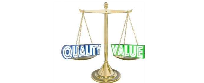 Ace Catering Blog Featured Image Dimensions - The Balancing Act - Quality Vs Price